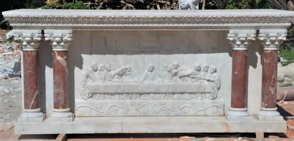 marble altar| altars| marble sanctuary furniture| marble church furniture