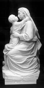 Madonna and Child| Madonna religious statue| marble sculpture| marble religious statue