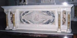 altar, marble altar, marble sanctuary furniture