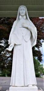 Mother Cabrini statue, marble statue, religious statues