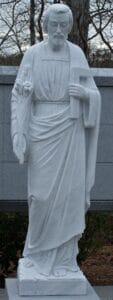 st. joseph the worker statue, st. joseph statue, religious statues, marble statues