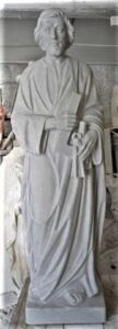 religious figures, religious statues, st. joseph the worker, marble statue