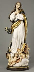 assumption, assumption of mary, assumption statue