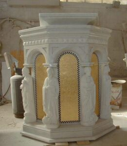 ambo, pulpit, marble ambo, marble pulpit