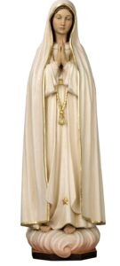 our lady of fatima, our lady of fatima statue religious figures, religious statues,
