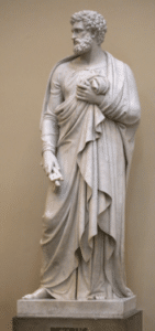 st. peter statue, st. peter religious statue, marble statue, religious statues