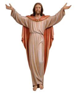 risen christ, risen christ corpus, risen christ wood carved statue