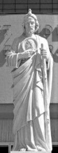st. jude statue, st. jude religious statue, religious statues,
