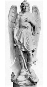 st. michael, st. michael the archangel, st. michael religious statue
