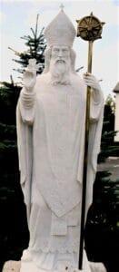 st. patrick, st. patrick statue, st. patrick religious statue
