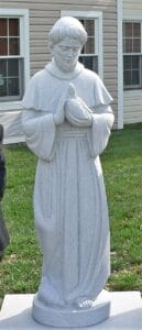st. francis statue, st. francis of asissi, religious statues