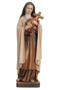 religious figures, religious statues, st theresa statue