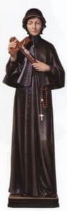 religious figures, religious statues, st elizabeth ann seton statue