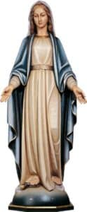 religious figure, religious statue, Our Lady of Grace