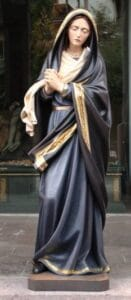 religious figures, religious statues, our lady of sorrows