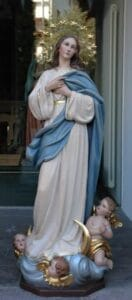 religious figures, religious statues, Our Lady of Assumption