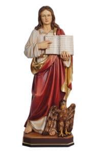 religious statues, religious figures, st john the evangelist statue