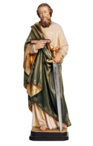 religious statues, religious figures, st paul statue