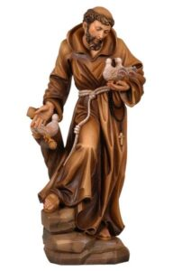 religious statues, religious figures, st francis of asissi statue