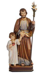 religious statues, religious figures, st joseph statue